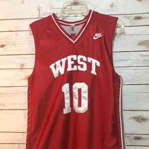 NIKE reversible basketball jersey West 10